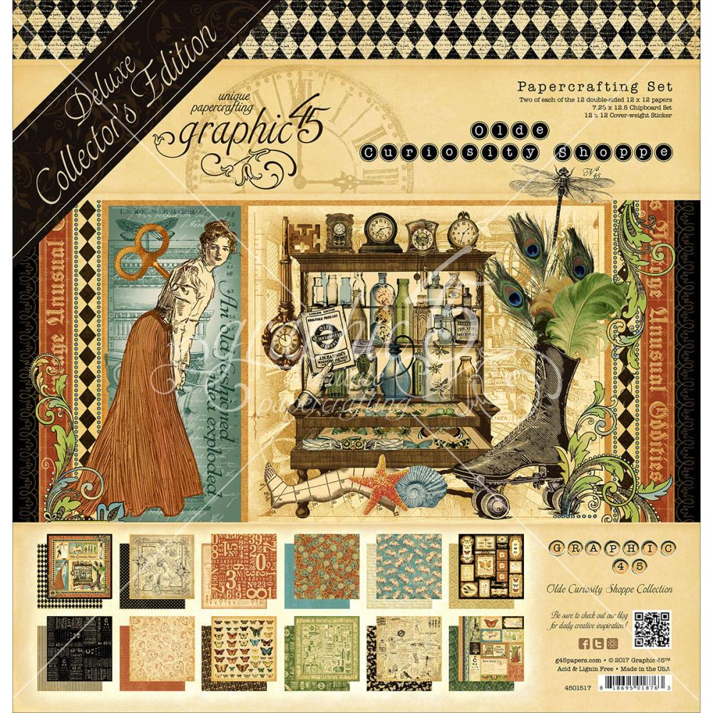 Graphic 45 - Old Curiosity Shoppe Collector's Edition