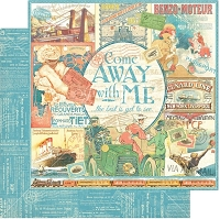 Graphic 45 - Come Away With Me Collection - 12