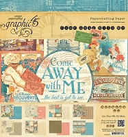 Graphic 45 - Come Away With Me Collection - 8
