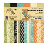 Graphic 45 - Artisan Style Collection - 6x6 Patterns & Solids
