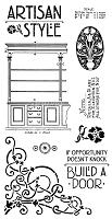 Graphic 45 - Artisan Style Collection - Cling Stamp 1