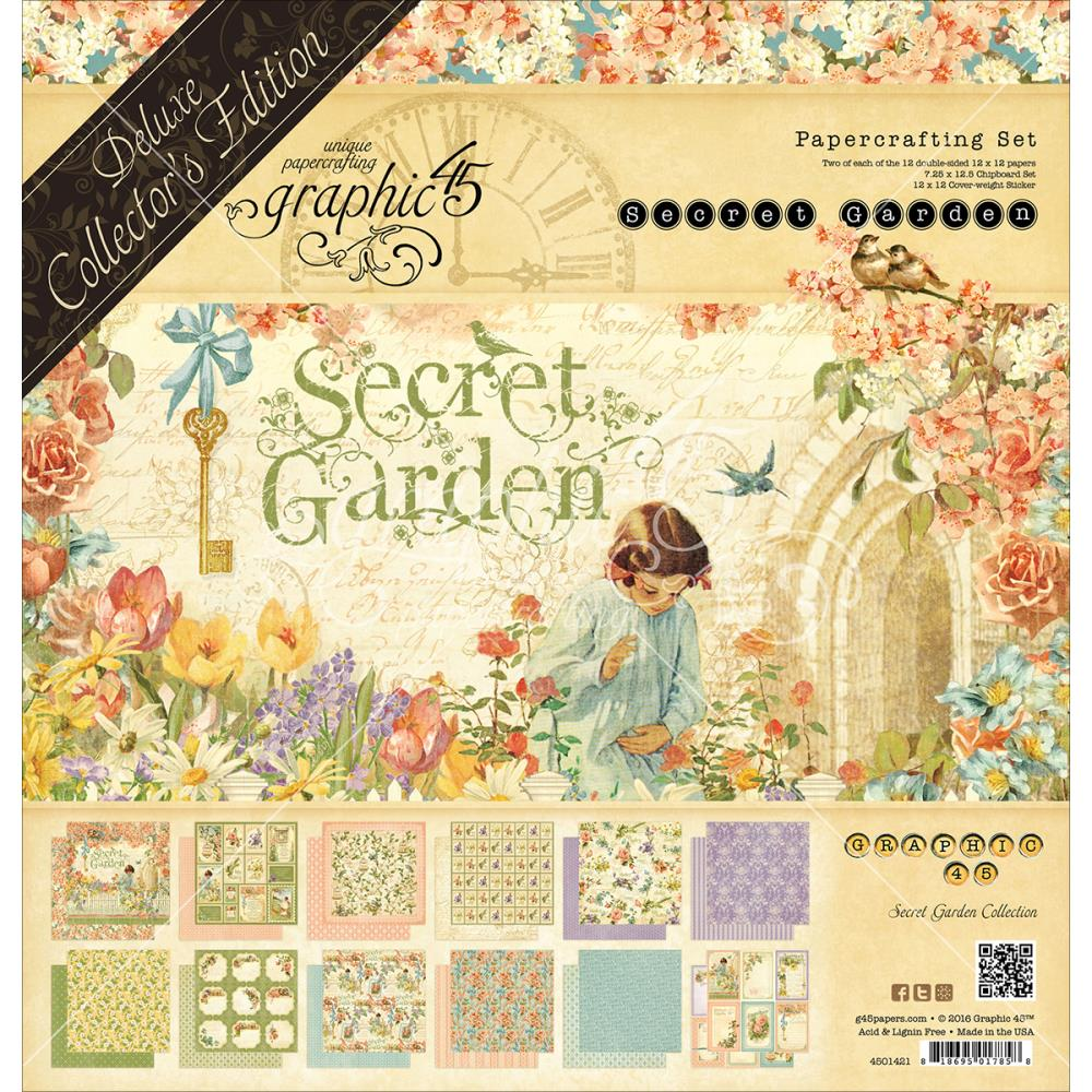 Graphic 45 - Secret Garden Deluxe Collectors Edition