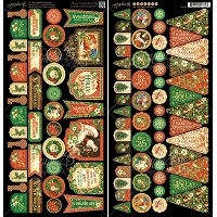Graphic 45 - St Nicholas Collection - Banners