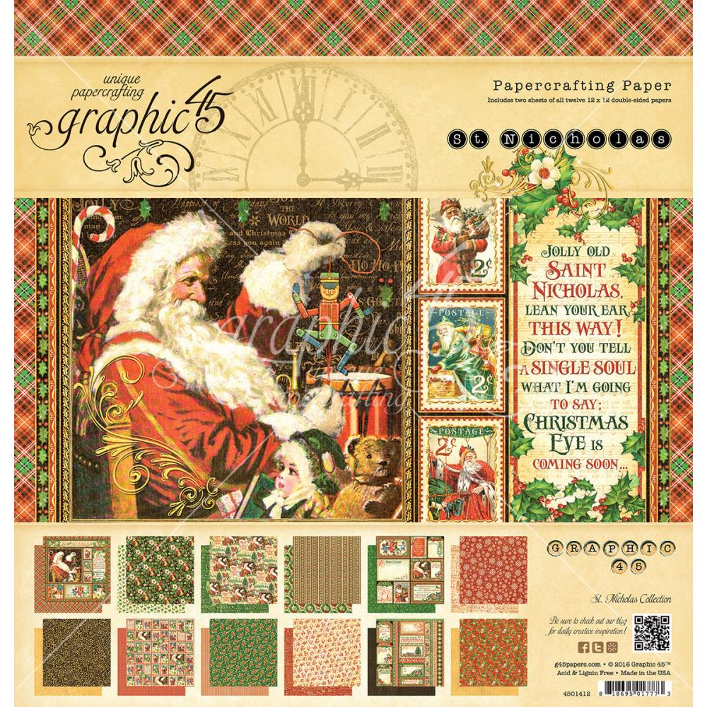 Scrapbook paper collections - St Nicholas Collection