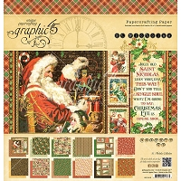 Graphic 45 - St Nicholas Collection - 12x12 Paper Pad