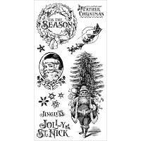 Graphic 45 - St Nicholas Collection - Cling Stamps 1