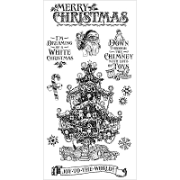 Graphic 45 - St Nicholas Collection - Cling Stamps 2