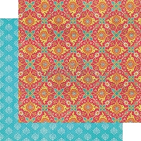 Graphic 45 - Bohemian Bazaar Collection - 12x12 Double Sided Paper - Jasmine Nights