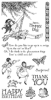 Graphic 45 - Children's Hour Collection - Cling Stamps 2