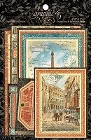 Graphic 45 - Cityscapes Collection - Ephemera Cards