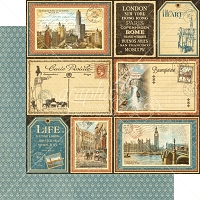 Graphic 45 - Cityscapes Collection - 12