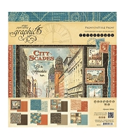 Graphic 45 - Cityscapes Collection - 8x8 Paper Pad