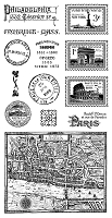 Graphic 45 - Cityscapes Collection - Cling Stamps 2