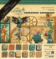 Graphic 45 - Deluxe Collector's Edition - Steampunk Debutante