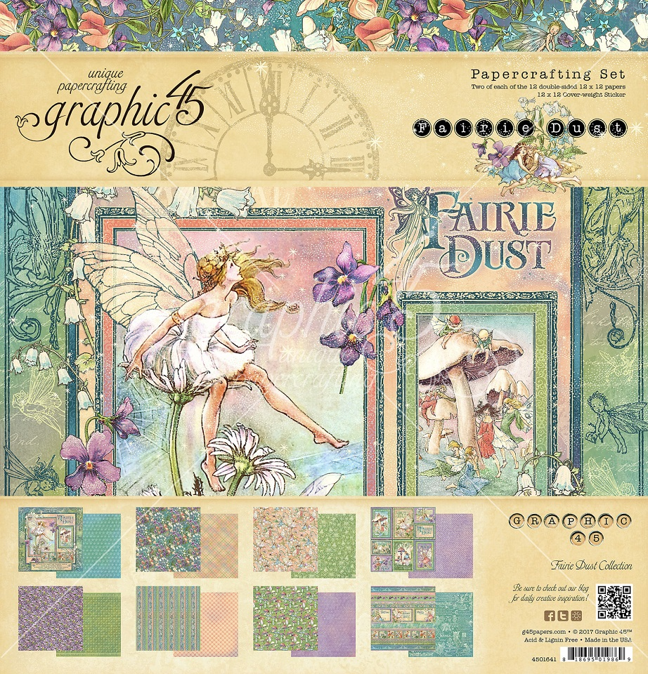 PRE-ORDER -  Graphic 45 - Fairie Dust Collection