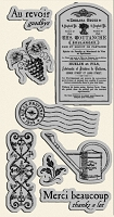 Graphic 45 - French Country Collection - Cling Stamp 2