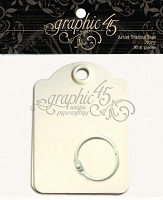 Graphic 45 Staples - Artist Trading Tags - Ivory