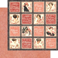 Graphic 45 - Mon Amour Collection - 12