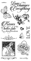Graphic 45 - Mon Amour Collection - Cling Stamps 3