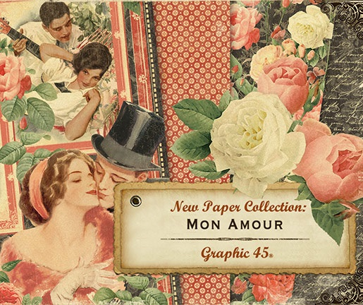 Graphic 45 - Mon Amour Collection