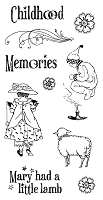 Graphic 45/Hampton Arts - Mother Goose Collection - Cling Stamp 2