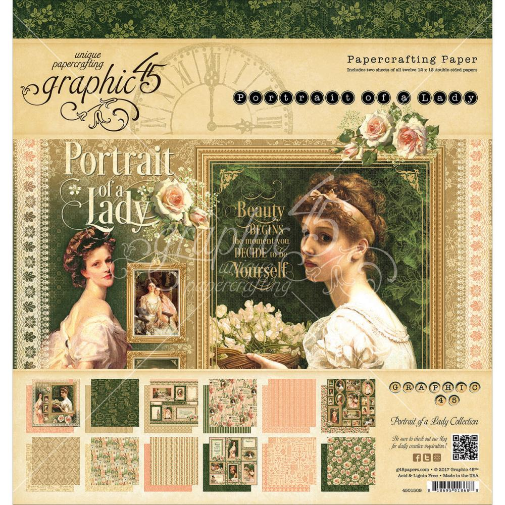 Graphic 45 - Portrait of a Lady Collection