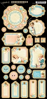Graphic 45 - Precious Memories Collection - Journaling Chipboard
