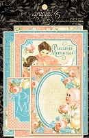 Graphic 45 - Precious Memories Collection - Ephemera Cards