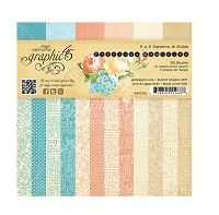 Graphic 45 - Precious Memories Collection - 6x6 Patterns and Solids