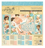Graphic 45 - Precious Memories Collection - 8x8 Paper Pad