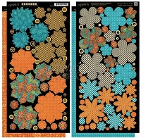 Graphic 45 - Steampunk Spells Collection - Die Cut Cardstock - Flowers