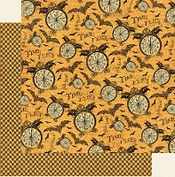 Graphic 45 - Steampunk Spells Collection - 12X12 Double Sided Paper - Tick-Tock