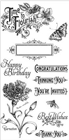 Graphic 45 - Time to Flourish Collection - Stamp 1