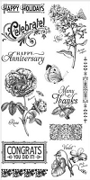 Graphic 45 - Time to Flourish Collection - Stamp 2
