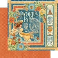 Graphic 45 - World's Fair Collection - 12