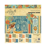 Graphic 45 - World's Fair Collection - 8x8 Paper Pad