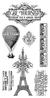 Graphic 45 - World's Fair Collection - Cling Stamps 2