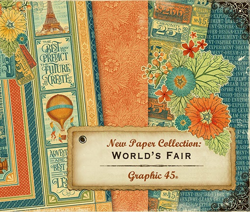 Graphic 45 - World's Fair Collection