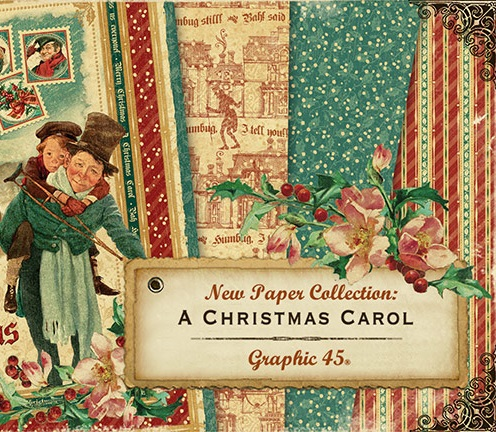 Graphic 45 - A Christmas Carol Collection