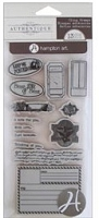 Hampton Art - Authentique - Cling Stamp Set - Keep Me Posted