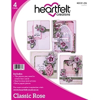Heartfelt Creations - Classic Rose Card Instruction Kit (does not include stamps/dies)