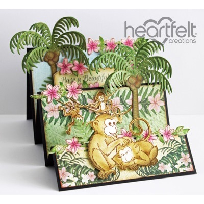 Heartfelt Creations - Monkeying Around Collection