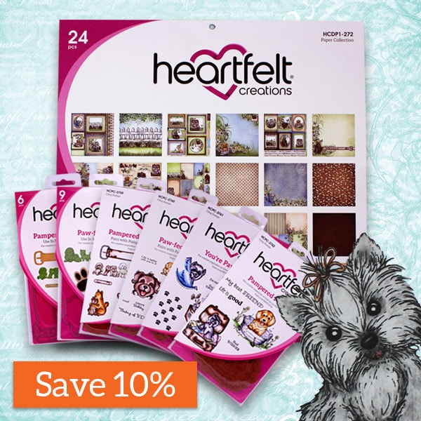 Heartfelt Creations -Pampered Pooch Collection