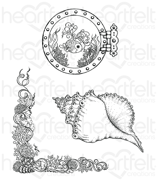 Heartfelt Creations Under The Sea Collection Coral