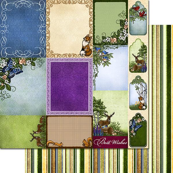 Heartfelt Creations 12 Quot X12 Quot Paper Pad Woodsy