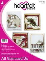 Heartfelt Creations - All Glammed Up Card Instruction Kit (does not include stamps)