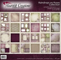 Heartfelt Creations - Raindrops on Roses Collection