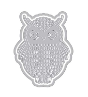 Hero Arts - Fancy Die - Paper Layering Owl with Frame Fancy Die