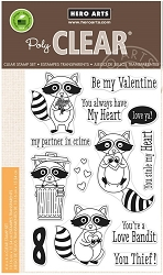 Hero Arts - Clear Stamp - Love Bandit