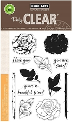 Hero Arts - Clear Stamp - Color Layering Rose